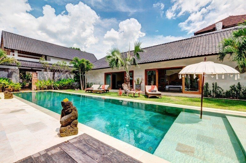 Abaca Villas Swimming Pool, Petitenget | 5 Bedroom Villas Bali