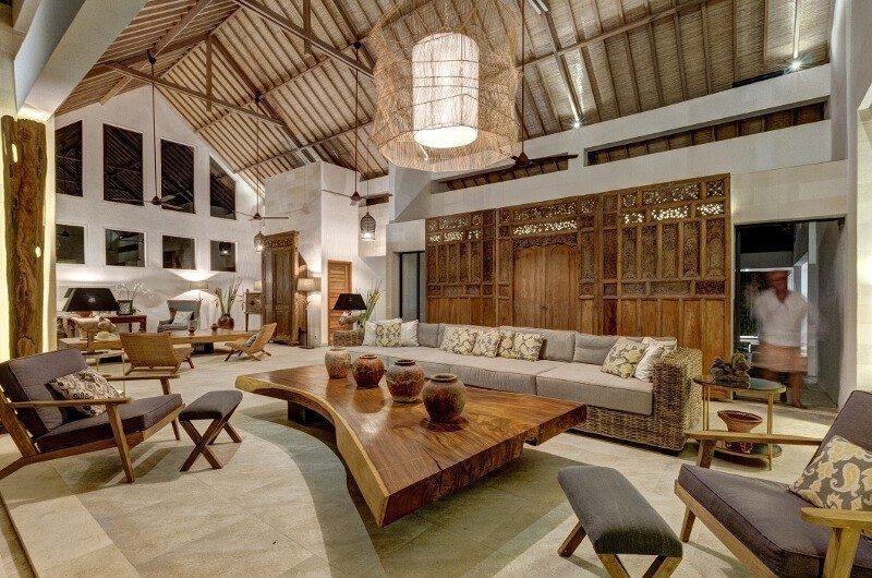 Abaca Villas Indoor Living Area, Petitenget | 5 Bedroom Villas Bali