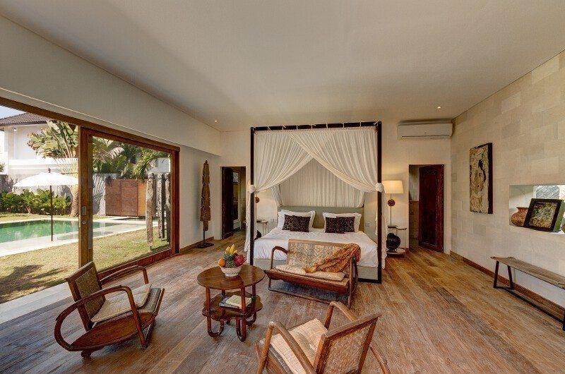 Abaca Villas Bedroom with Pool View, Petitenget | 5 Bedroom Villas Bali