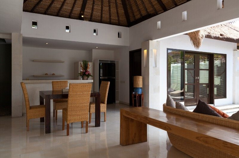 BVilla Spa Kitchen, Living and Dining Area, Seminyak | 5 Bedroom Villas Bali