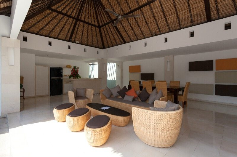 BVilla Spa Living and Dining Area, Seminyak | 5 Bedroom Villas Bali