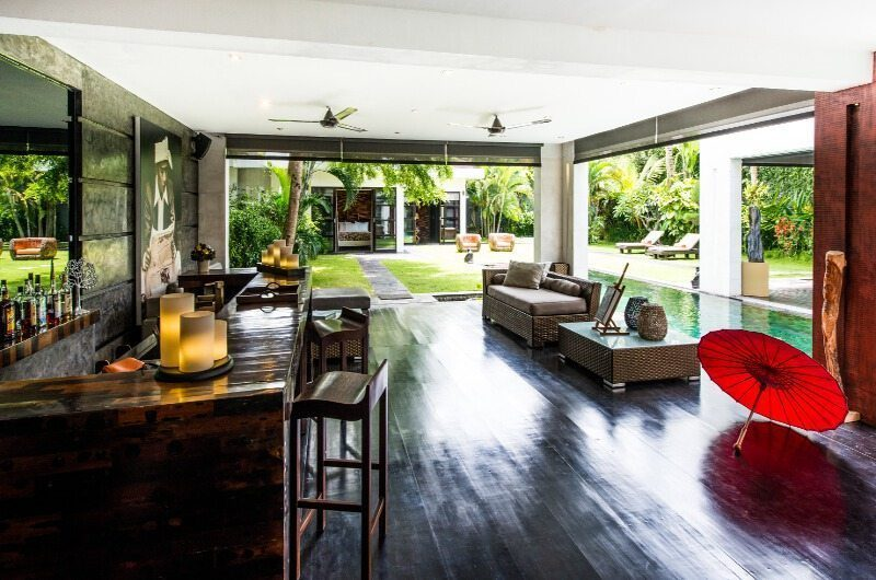 Casa Hannah Pool Side Living Area, Seminyak | 5 Bedroom Villas Bali
