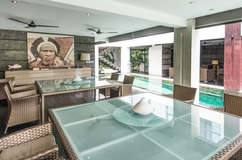 Casa Hannah Pool Side Dining, Seminyak | 5 Bedroom Villas Bali
