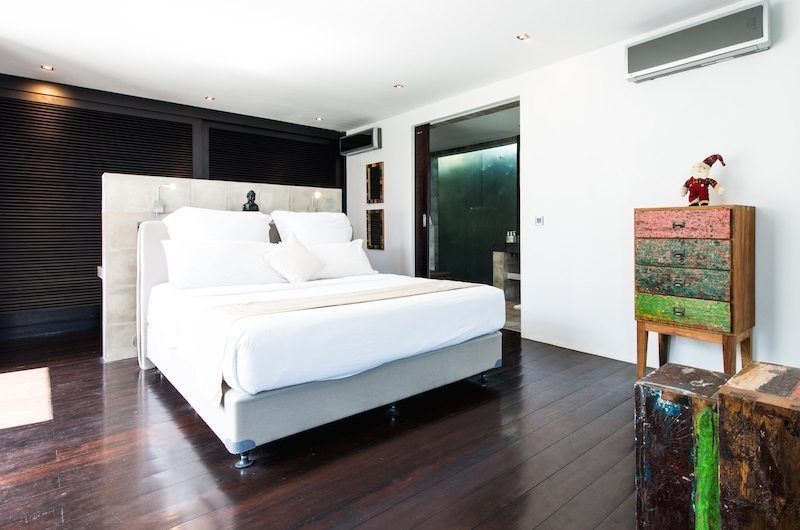 Casa Hannah Bedroom with Wooden Floor, Seminyak | 5 Bedroom Villas Bali