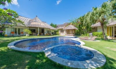 Casa Lucas Outdoor Area with Pool, Seminyak | 5 Bedroom Villas Bali