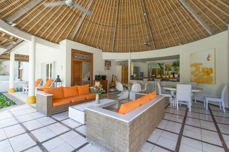 Casa Lucas Living and Dining Area, Seminyak | 5 Bedroom Villas Bali