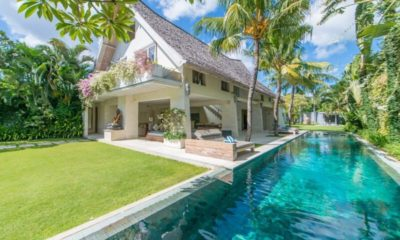 Casa Mateo Outdoor Area with Pool, Seminyak | 5 Bedroom Villas Bali