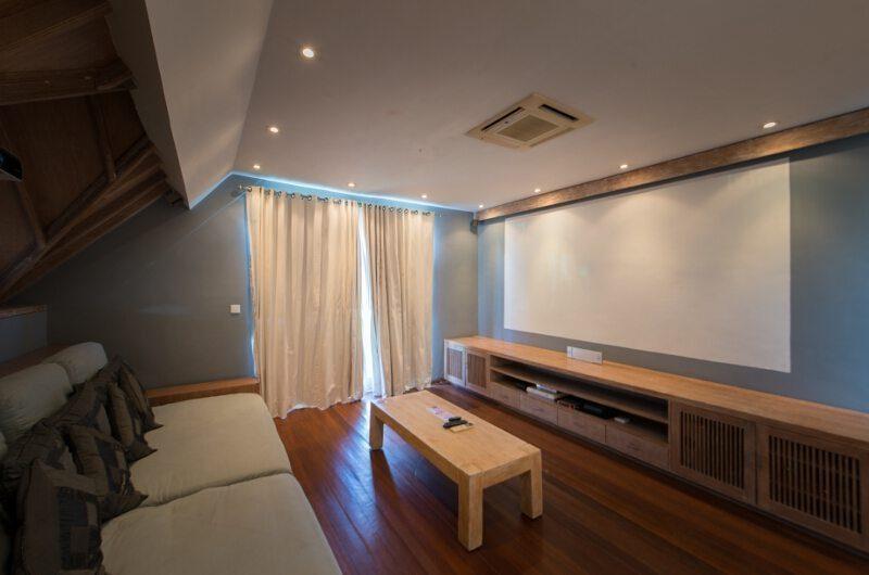 Casa Mateo Media Room, Seminyak | 5 Bedroom Villas Bali