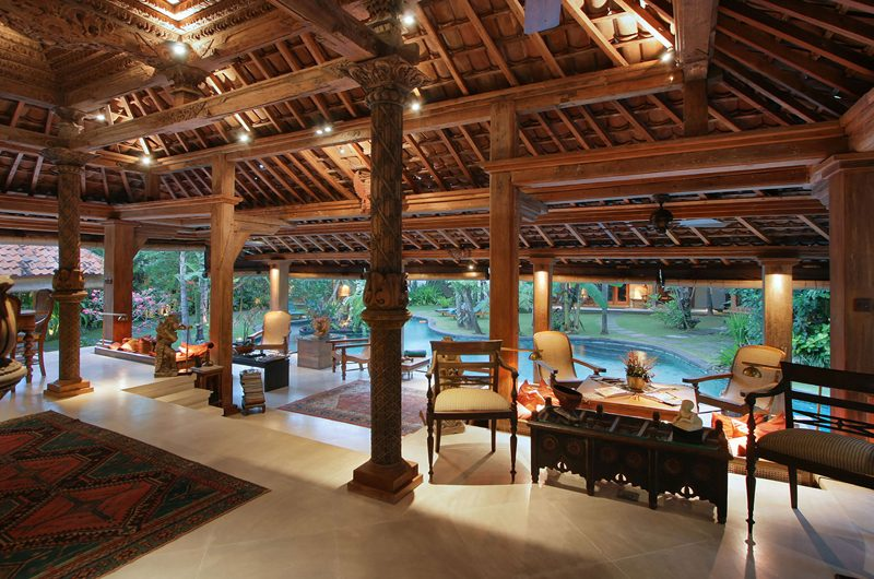 Des Indes Villas Indoor Living Area, Seminyak | 5 Bedroom Villas Bali