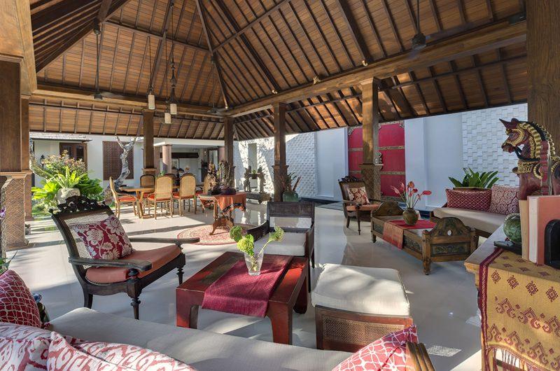 Des Indes Villas Living and Dining Area, Seminyak | 5 Bedroom Villas Bali