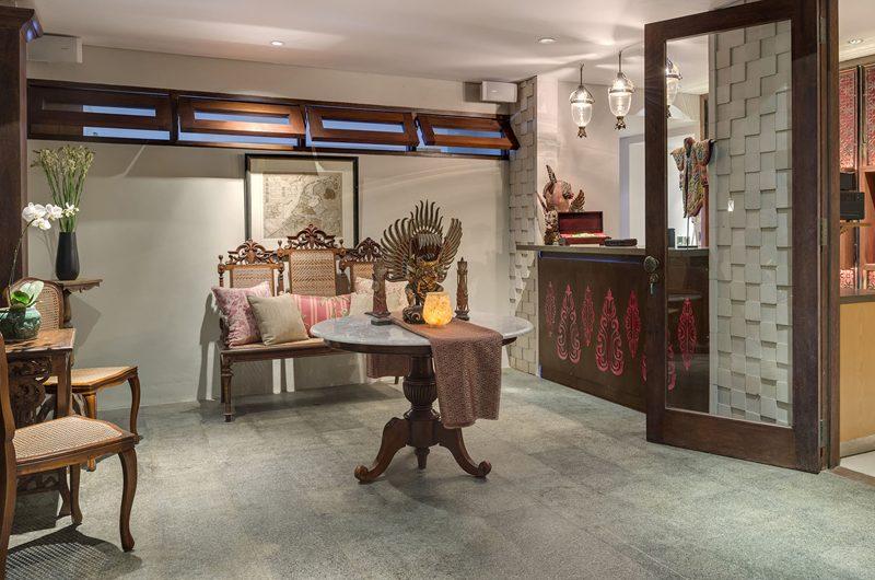 Des Indes Villas Seating Area, Seminyak | 5 Bedroom Villas Bali