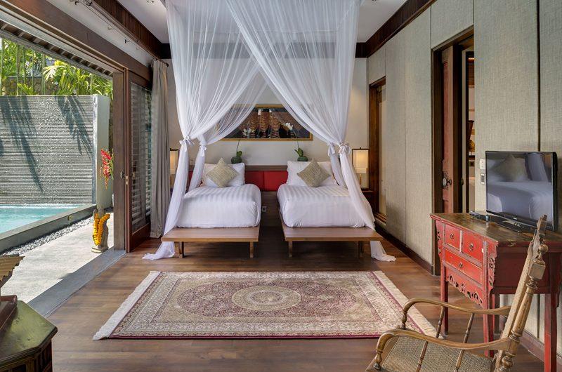 Des Indes Villas Pool Side Twin Bedroom, Seminyak | 5 Bedroom Villas Bali