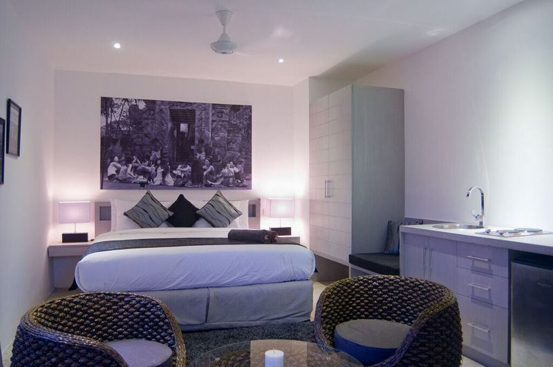 Eshara Seminyak Bedroom with Seating Area, Seminyak | 5 Bedroom Villas Bali