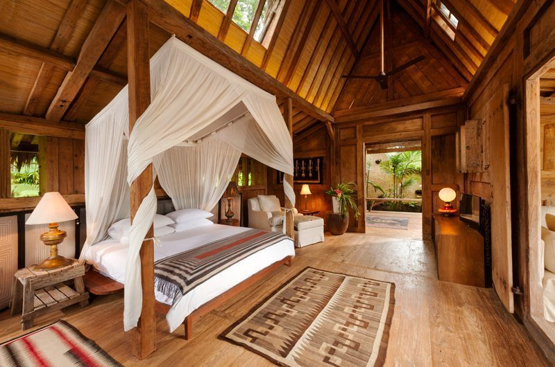Hartland Estate Bedroom with Wooden Floor, Ubud | 5 Bedroom Villas Bali