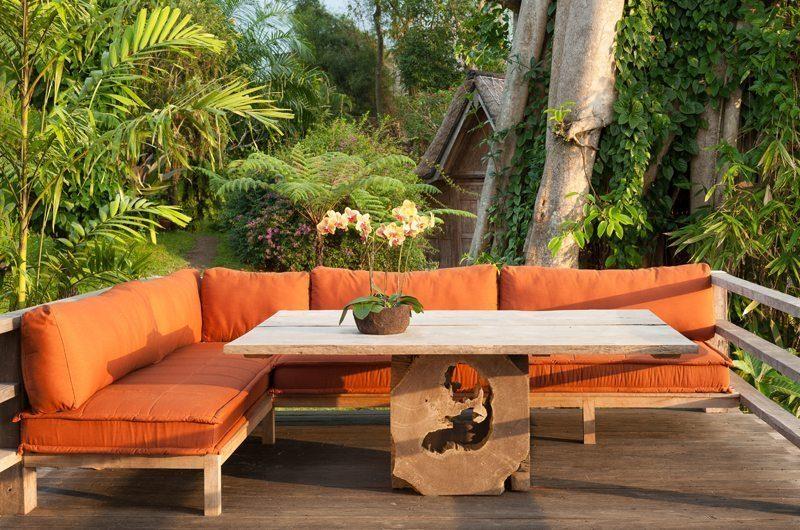 Hartland Estate Outdoor Seating Area, Ubud   5 Bedroom Villas Bali
