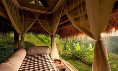Hartland Estate Outdoor Seating Area with Beautiful View, Ubud | 5 Bedroom Villas Bali