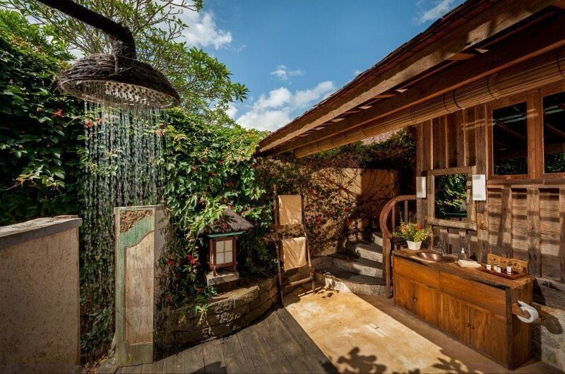 Hartland Estate Outdoor Shower, Ubud | 5 Bedroom Villas Bali