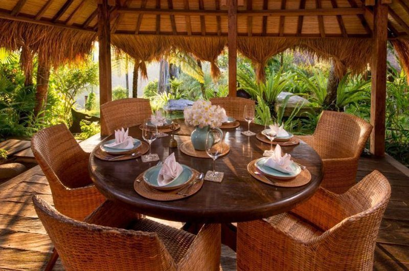 Hartland Estate Outdoor Dining Area, Ubud | 5 Bedroom Villas Bali