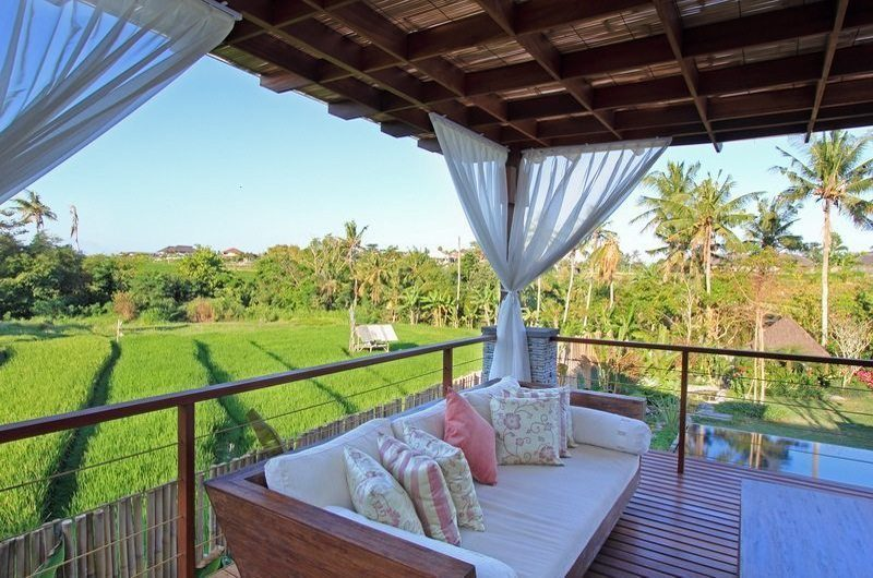 Kemala Villa Pool Side Seating Area, Canggu | 5 Bedroom Villas Bali