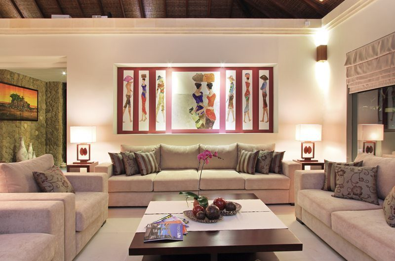 Kemala Villa Lounge Area, Canggu | 5 Bedroom Villas Bali