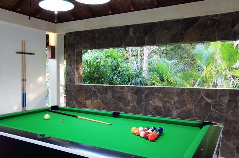 Kemala Villa Billiard Table, Canggu | 5 Bedroom Villas Bali