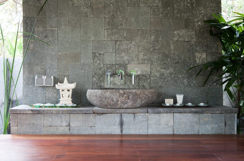Kemala Villa Open Plan Bathroom, Canggu | 5 Bedroom Villas Bali