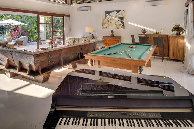 Lataliana Villas Billiard Table, Seminyak | 5 Bedroom Villas Bali