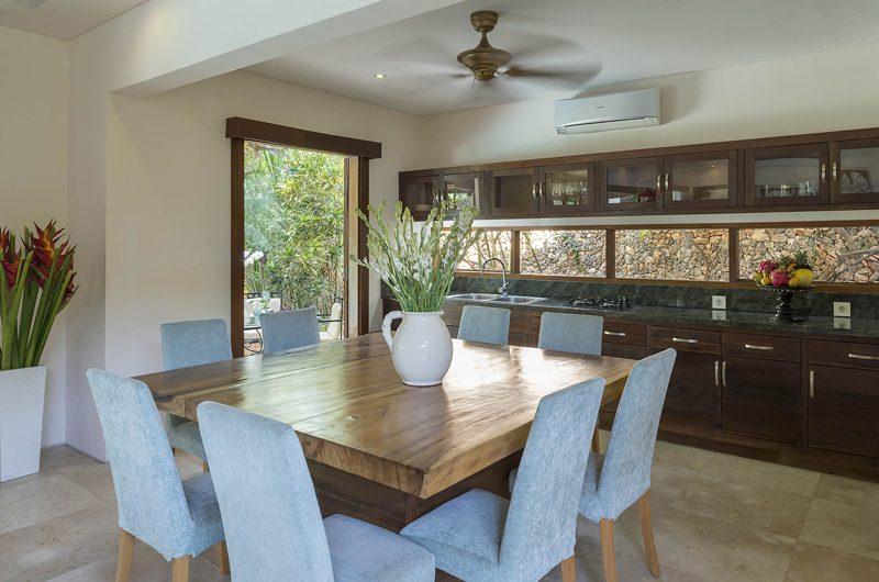 Lataliana Villas Kitchen and Dining Area, Seminyak | 5 Bedroom Villas Bali