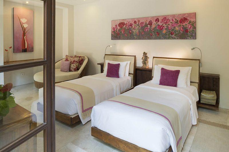 Lataliana Villas Bedroom with Twin Beds, Seminyak | 5 Bedroom Villas Bali