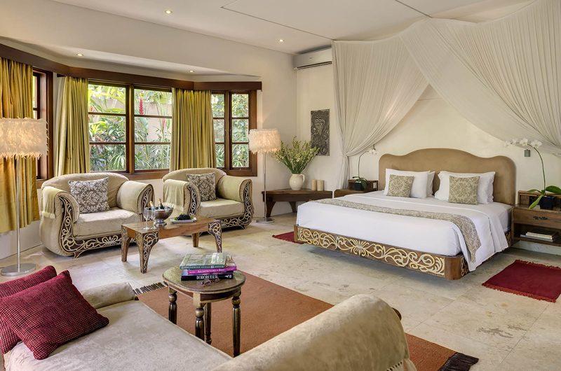 Lataliana Villas Bedroom with Seating Area, Seminyak | 5 Bedroom Villas Bali