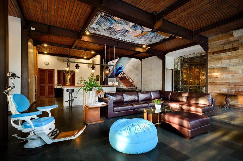 Niconico Mansion Living Area, Petitenget | 5 Bedroom Villas Bali