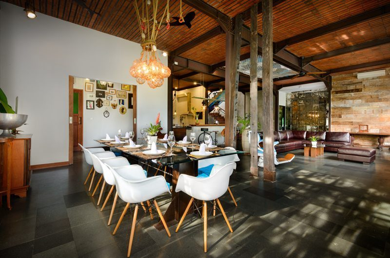 Niconico Mansion Living and Dining Area, Petitenget | 5 Bedroom Villas Bali