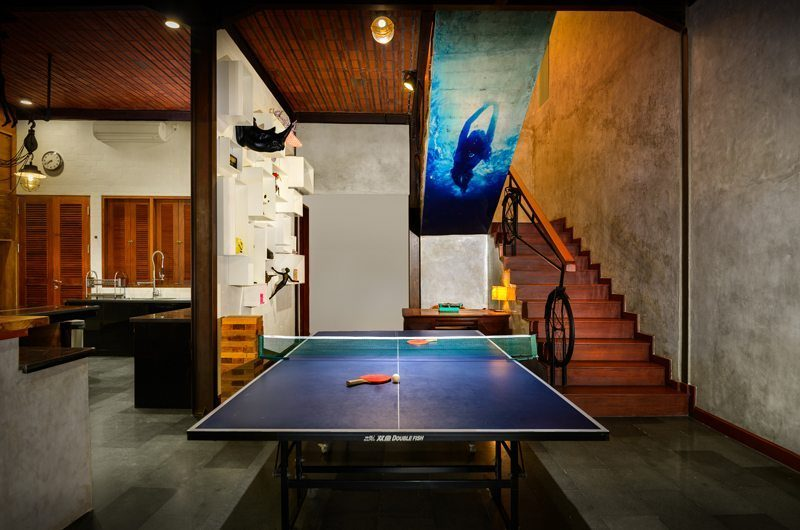 Niconico Mansion Table Tennis, Petitenget | 5 Bedroom Villas Bali