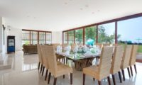 Pandawa Cliff Estate Indoor Spacious Dining Area, Ungasan | 5 Bedroom Villas Bali