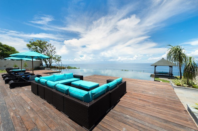 Pandawa Cliff Estate Pool Side Lounge, Ungasan | 5 Bedroom Villas Bali