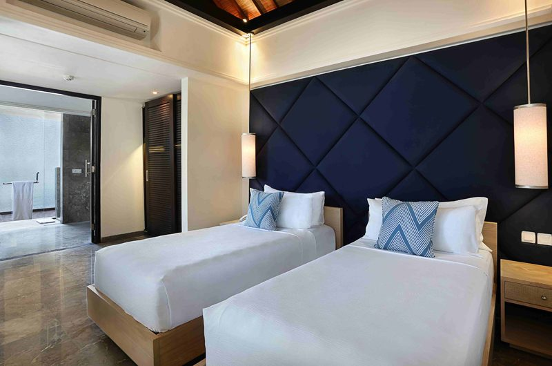 Peppers Seminyak Twin Bedroom with Bathroom, Seminyak | 5 Bedroom Villas Bali