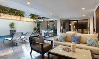 Peppers Seminyak Pool Side Living Area, Seminyak | 5 Bedroom Villas Bali