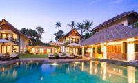 Seseh Beach Villas Night View, Seseh | 5 Bedroom Villas Bali