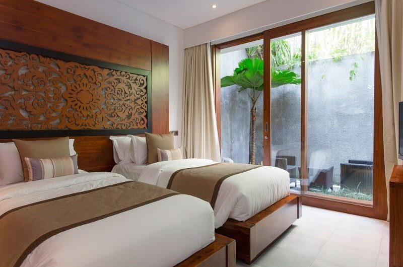 Seseh Beach Villas Twin Bedroom, Seseh | 5 Bedroom Villas Bali