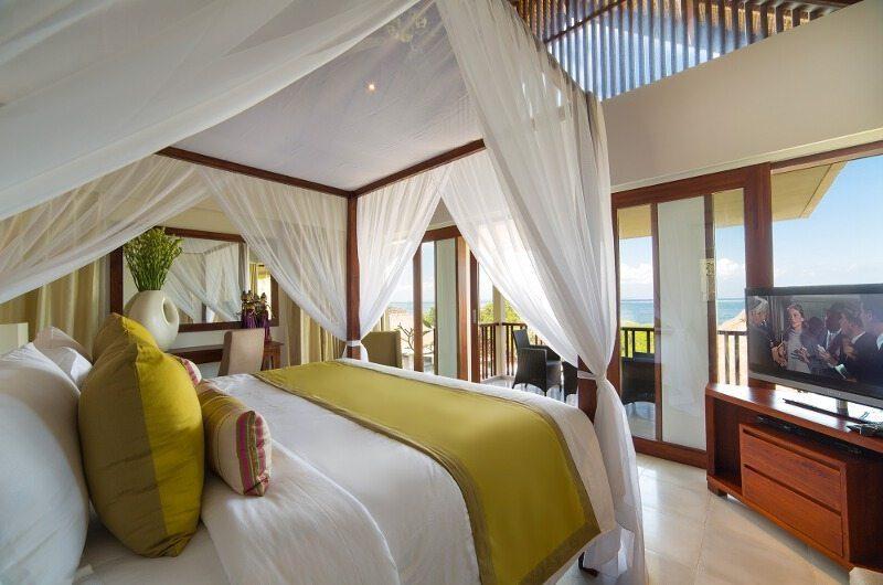 Seseh Beach Villas Bedroom with TV, Seseh | 5 Bedroom Villas Bali