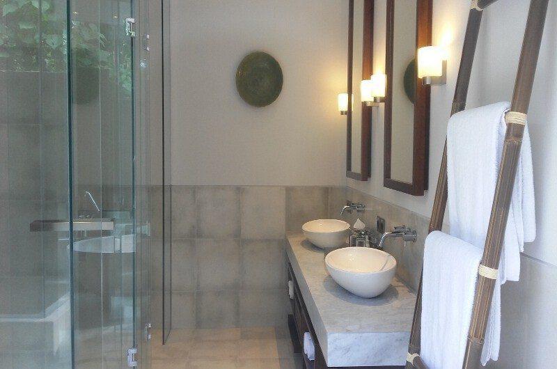 Seseh Beach Villas His and Hers Bathroom, Seseh | 5 Bedroom Villas Bali