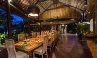 Taman Ahimsa Dining Area, Seseh | 5 Bedroom Villas Bali