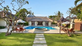 The Bli Bli Villas Reclining Sun Loungers, Seminyak | 5 Bedroom Villas Bali