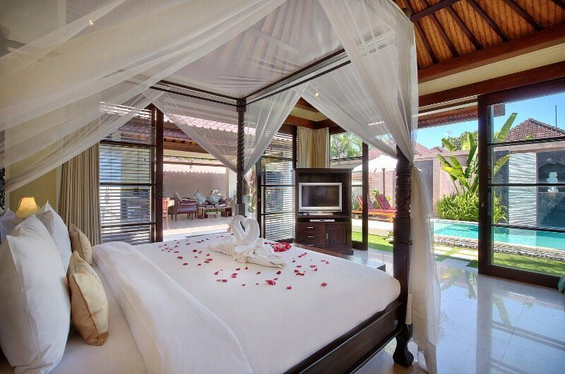 The Bli Bli Villas Bedroom with Pool View, Seminyak | 5 Bedroom Villas Bali