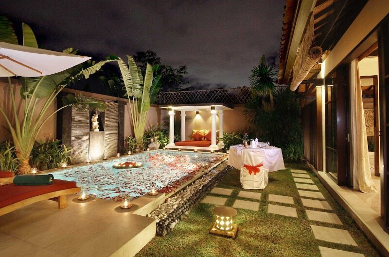 The Bli Bli Villas Romantic Pool Set Up, Seminyak | 5 Bedroom Villas Bali