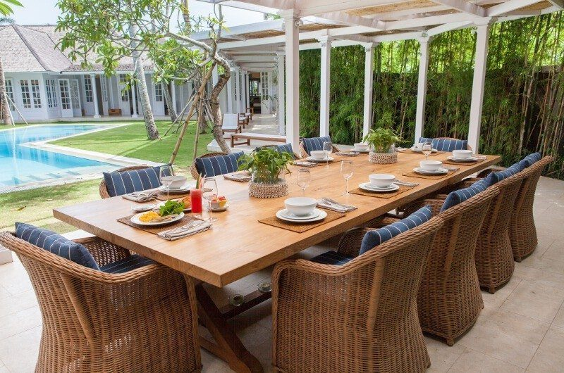 The Cotton House Pool Side Dining, Seminyak | 5 Bedroom Villas Bali