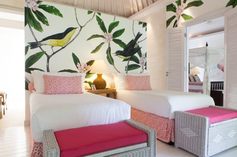 The Cotton House Twin Bedroom, Seminyak | 5 Bedroom Villas Bali