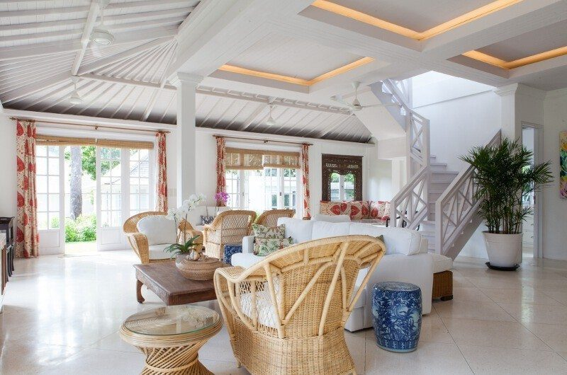 The Cotton House Indoor Living Area, Seminyak | 5 Bedroom Villas Bali