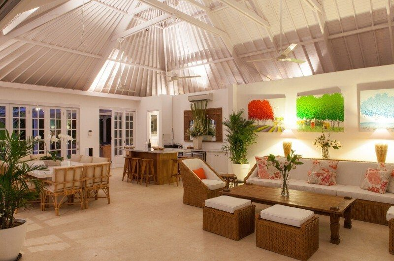 The Cotton House Living Area, Seminyak | 5 Bedroom Villas Bali