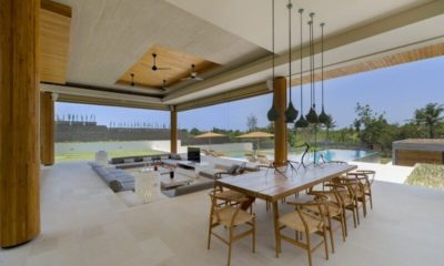 The Iman Villa Living and Dining Area, Pererenan | 5 Bedroom Villas Bali